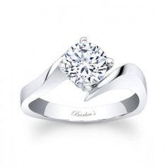 Barkev's Diamond Solitaire Ring - 7828L