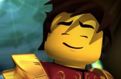 Kai, probably listening to his favourite song Little Kid Shows, Kids Shows, Ninjago Kai, Lego Ninjago, Kudos To You, Cool Artwork, Legos, Just In Case, Lego Stuff