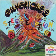 Silvertones - Steel Eruption *CANADA* (Steel Band) LP