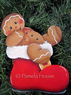 Santa's Boot Gingerbread