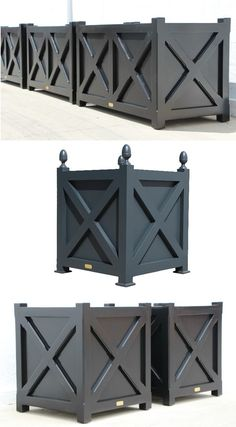 DIY - Wooden Planters « Garten DIY - Wooden Planters « Garten The Effective Pictures We Offer You About cinder block Garden Planters A quality picture can tell you many things. Wooden Planter Boxes Diy, Garden Planter Boxes, Wooden Garden Planters, Patio Planters, Wooden Diy, Long Planter Boxes, Cinder Block Garden, Diy Garden Projects, Flower Boxes