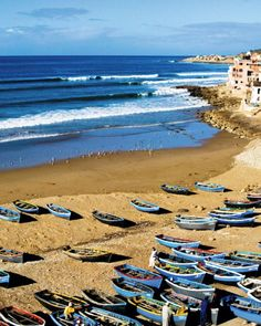 We have four words for you: surf camp in Morocco. Far out, right? The boys can book with Surf Maroc, a reliable outfitter in this fishing village. The breaks are good for riders of all levels, but if they tire of hanging ten, they can catch a taxi to Agadir to wander the souks, where he can score you a piece of artisan jewelry. The best value for lodging is the oceanfront Villa Mandala, which has nine rooms (each with its own distinct decor), a rooftop yoga pavilion, and a pool.When to Go…