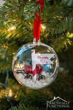 Lovely DIY Christmas tree ornaments
