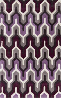 Surya COS9178 Cosmopolitan Purple Rectangle Area Rug