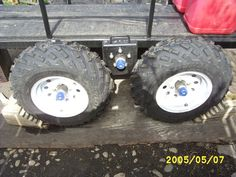 "ATV ""walking beam trailers"" - Yamaha Grizzly ATV Forum"