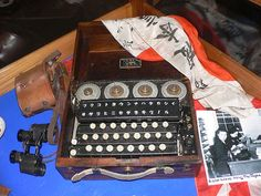 A Japanese Enigma clone, codenamed GREEN by American cryptographers.