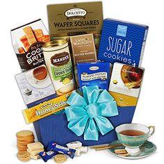 Tea & Cookies Gift Basket Classic GourmetGiftBaskets.com http://www.amazon.com/dp/B003AORSLC/ref=cm_sw_r_pi_dp_edSWwb0VJ5GPS
