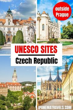 Discover the UNESCO sites outside of Prague! Find out which World Heritage Sites in Czech Republic are not in Prague: Cesky Krumlov, Holasovice, Kutna Hora, Telc, Trebic and many more.