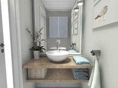 Et lite wc-rom | Nr14 Interiørhjelp