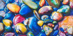 Ester Roi   OIL PASTEL and Colored Pencil Artist