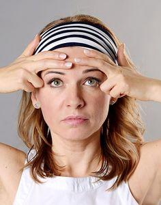 Ako sa zbaviť vrások na čele a medzi obočím. Video v článku - AntiAge. Organic Beauty, Anti Aging, Health Fitness, Make Up, Nutrition, Face, Nordic Interior, Speech Language Therapy, Diet