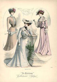 [De Gracieuse] Voorjaarstoiletten (April 1901)