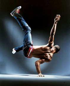 Break Dancing. There's something about watching a break dancer that is intriguing to me. It takes such control to move your body in such an exact precise way. Much appreciation for this talent.