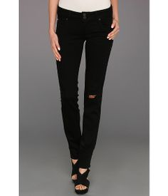 The right amount of detailing.  Studded sides and small rips.  Hudson Collin Skinny in Vintage Vienna | Pretty Little Liars