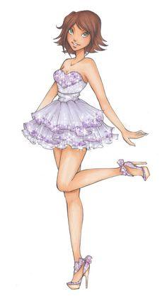 DH: Rapunzels prom dress by Nina-D-Lux on deviantART
