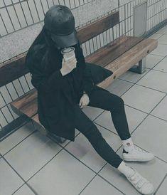 U l z z a n g - Swag - Wattpad Korean Girl Ulzzang, Ulzzang Girl Fashion, Couple Ulzzang, Cute Korean Girl, Asian Girl, Cool Girl Pictures, Girl Photos, Boyish Girl, Uzzlang Girl