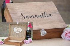 """Will You Be My Bridesmaid"" or ""Will You Be My Maid of Honor"" or whatever you'd like! This is such an awesome way to ask your bridal party to be a part of you Big Day! Its a beautiful box that they ca"