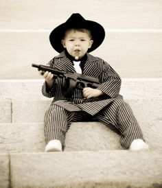 Take out the cigar and this is the CUTEST little ring bearer for a gangster themed wedding! Gangster Wedding, 1920s Wedding, Baby Wedding, Our Wedding, Dream Wedding, Gangster Party, Gangster Style, Wedding 2015, Wedding Stuff