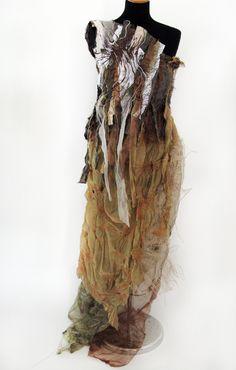 A2 Textiles Textile Design, Textile Art, Textile Courses, Distressed Dress, A Level Textiles, Textiles Sketchbook, Growth And Decay, Textiles Techniques, A Level Art