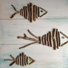 A breve nel negozio una serie di pannelli di legno per decorare le pareti dedicati al mare...