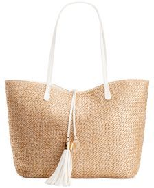 INC International Concepts Earth Tropical Tote