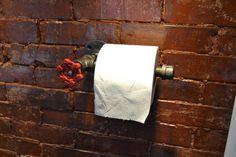 Style indus, enfin un dévidoir de papier toilette pas moche !