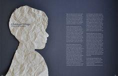 Uletokpo Village   Illustration & Layout by Doris Wimmer Dory, Illustration, Layout, Page Layout, Illustrations