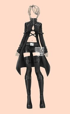 [open] Auction fashion famale adopt Outfits 202 by YuiChi-tyan