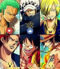 Who is your fav?! #ONEPIECE
