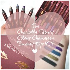 The Charlotte Tilbury Colour Chameleon Smokey Eye Pencils are my new favourite go-to eyeshadow pencils for when I want to look glamorous but I don't want to spend ages doing it. The kit, cont…