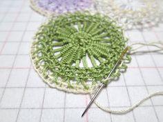 CasaERBA: Flower garden of Teneriffe Lace!