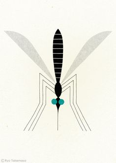 staceythinx:  Quirky insect illustrations by Ryo Takemasa