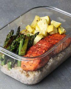 Salmon Meal Prep For 2