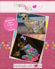 Poppy's Peekaboo Dress for Small Breed Dogs PDF Pattern