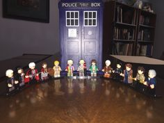 All 13 incarnation of the Doctor in #Lego form