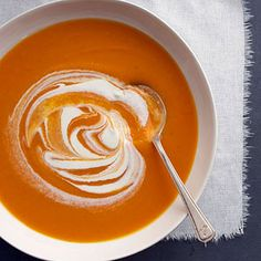 Butternut Squash and Carrot Soup - Recipe.com