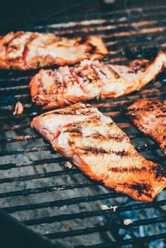 Grilled Wild Salmon, Fennel, and Corn with Dill Butter | Brooklyn Supper