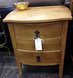 Rustic Pine End Table, $79