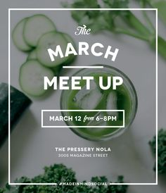 March Meet Up for Creatives Evite