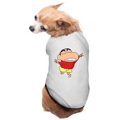 PIPI The Cute Child Crayon Shin-chan Logo Fashion Dog Clothes The Cute Child Crayon Shin-chan Logo Excellent Gift For Dogs And Dog Lovers. Read  more http://dogpoundspot.com/dog-luxury-store-1653/  Visit http://dogpoundspot.com for more dog review products
