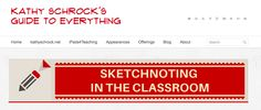 Kathy Schrock's Guide to Sketchnoting in the Classroom is most epic indeed! http://www.schrockguide.net/sketchnoting.html