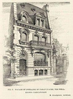The Caran d'Ache Residence, Paris