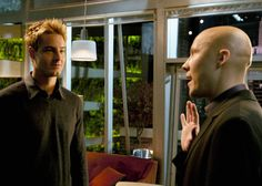 Justin Hartley and Michael Rosenbaum on the set of the season six episode Reunion Michael Rosenbaum, Justin Hartley, Lex Luthor, Smallville, On Set, Live Action, Season 1, Favorite Tv Shows, Behind The Scenes