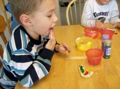 Invite the kids in your neighborhood over for a cookie decorating extravaganza!