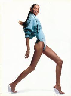 Ohhh Gisele Bundchen by Patrick Demarchelier for Céline S/S 2000