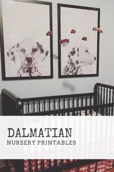 Dalmatian Nursery Printables L Firefighter Nursery L Boy Nursery Ideas L  Fire Nursery L Nursery Printable L Black And White Nursery Dalmatian Print,  ...