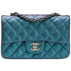 61f9d26d23e7 Image result for Chanel Le Boy flap Wallet Chanel Le Boy, Turquoise,  Shoulder Bag