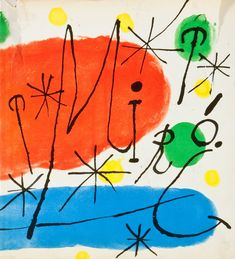 Joan Miro (The Museum of Modern Art Publications in Reprint) Spanish Painters, Spanish Artists, Pablo Picasso, Miro Artist, Joan Miro Paintings, Henri Matisse, Museum Of Modern Art, Arabesque, Book Art