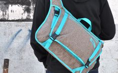 long board crossbody courier by HEXHEAD design , via Behance   Backpack   Industrial Design