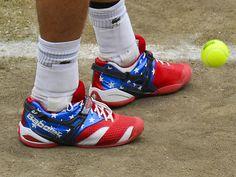 Andy Roddick's tennis shoes